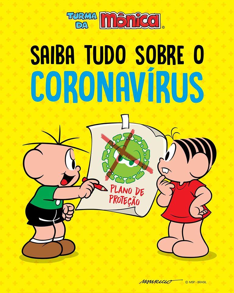TV Cultura e Turma da Mônica fazem vídeo de conscientização sobre o coronavírus; assista 1