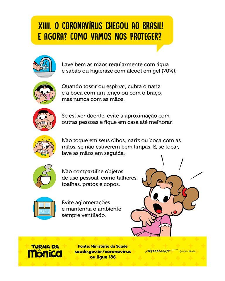 TV Cultura e Turma da Mônica fazem vídeo de conscientização sobre o coronavírus; assista 2