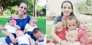 Com quatro filhos pequenos, dona de casa abandonada por marido recebe apoio de internautas