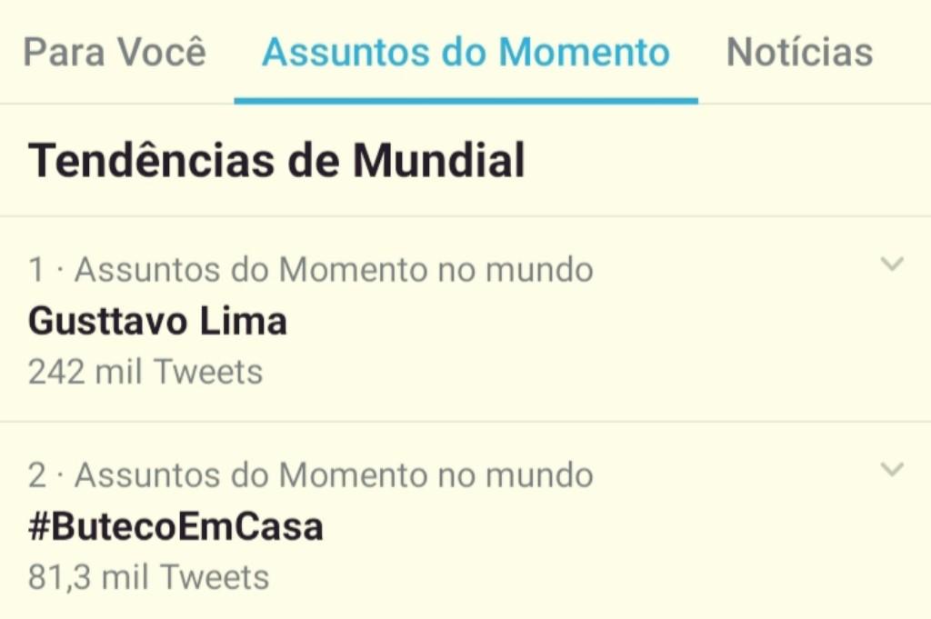 Gusttavo Lima arrecada doações live youtube