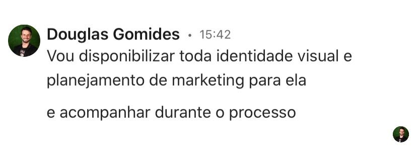 Especialista em marketing digital disponibiliza equipe para vendedor de salgados desolado 2