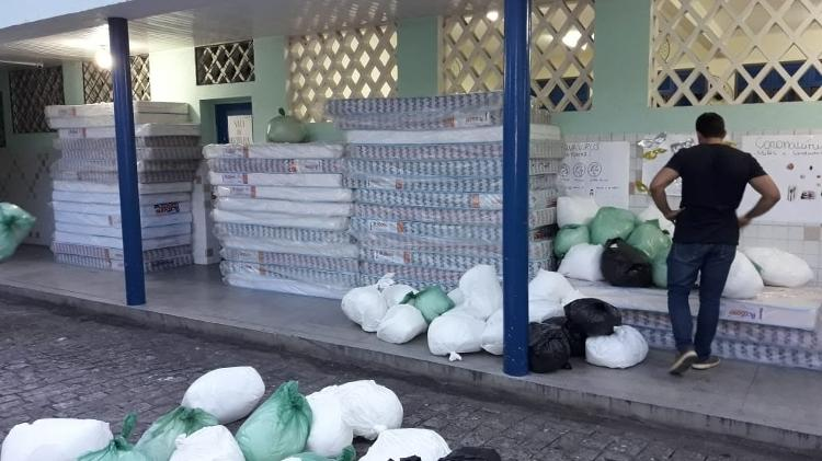 coronavírus Moradores de rua abrigados casas escolas Maceió