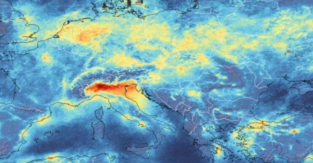 Coronavírus: o mundo emite menos de 1 milhão de toneladas de CO2 por dia