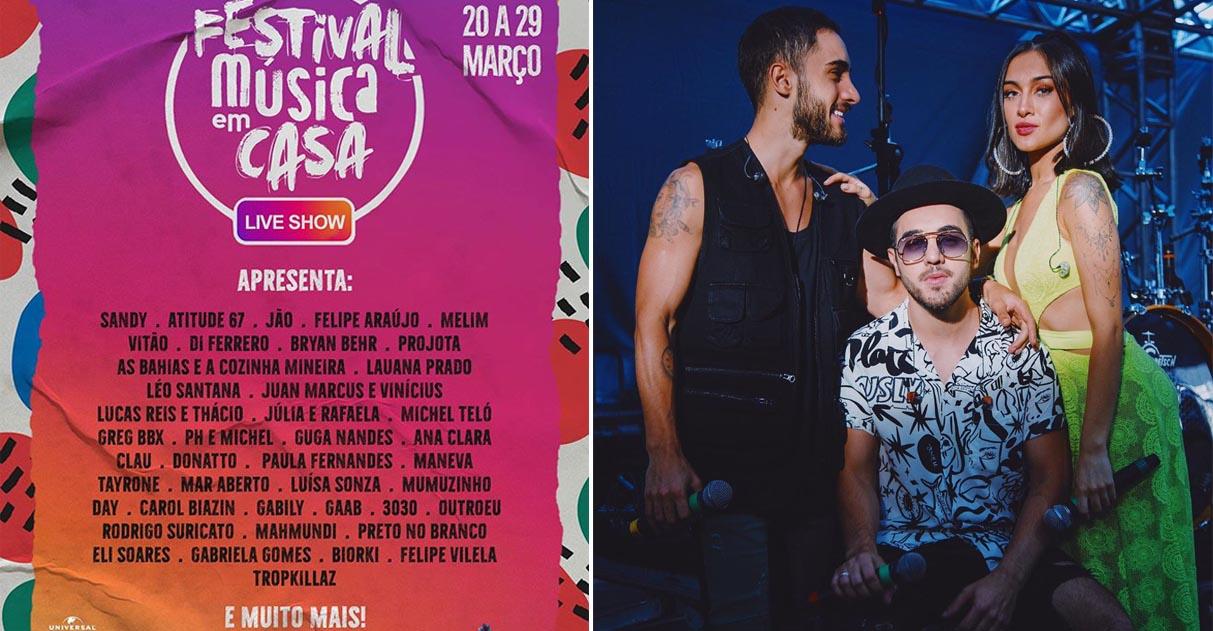 line=up festival música em casa