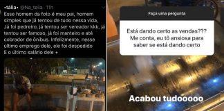 Após jovem publicar pedindo ajuda para as vendas do pai, internautas se mobilizam e compram todos os salgados