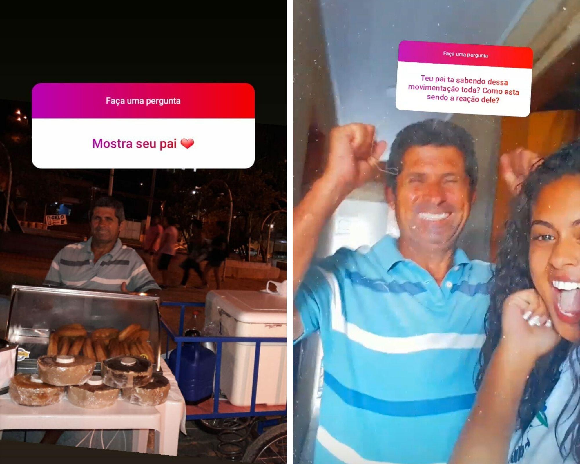 stories de filha que publicou tweet para ajudar pai com as vendas de salgados