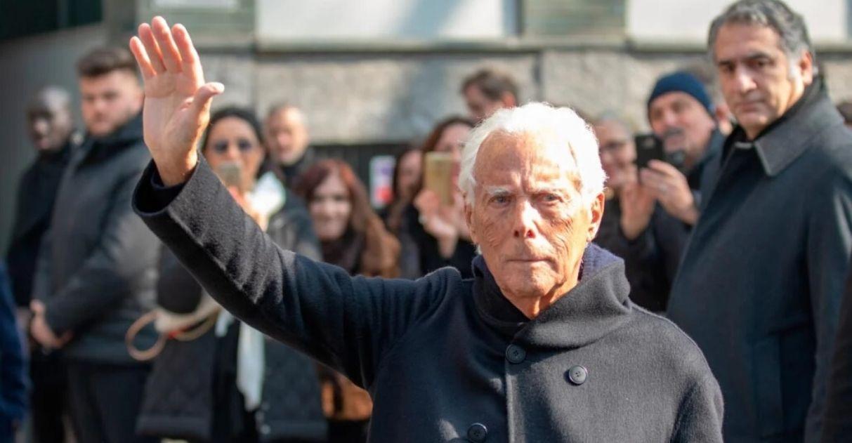 Giorgio Armani doação hospitais italianos contra coronavírus