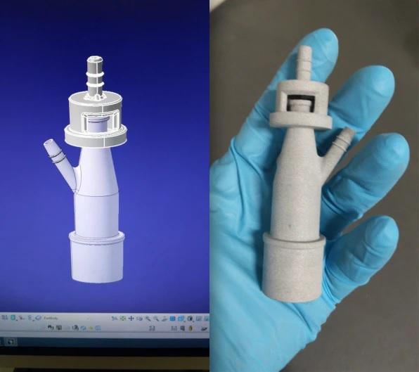 Voluntários salvam pacientes com coronavírus Itália com impressora 3D