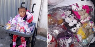 Mãe realiza pedágio para venda de bonecas da filha com síndrome rara e ninguém aparece