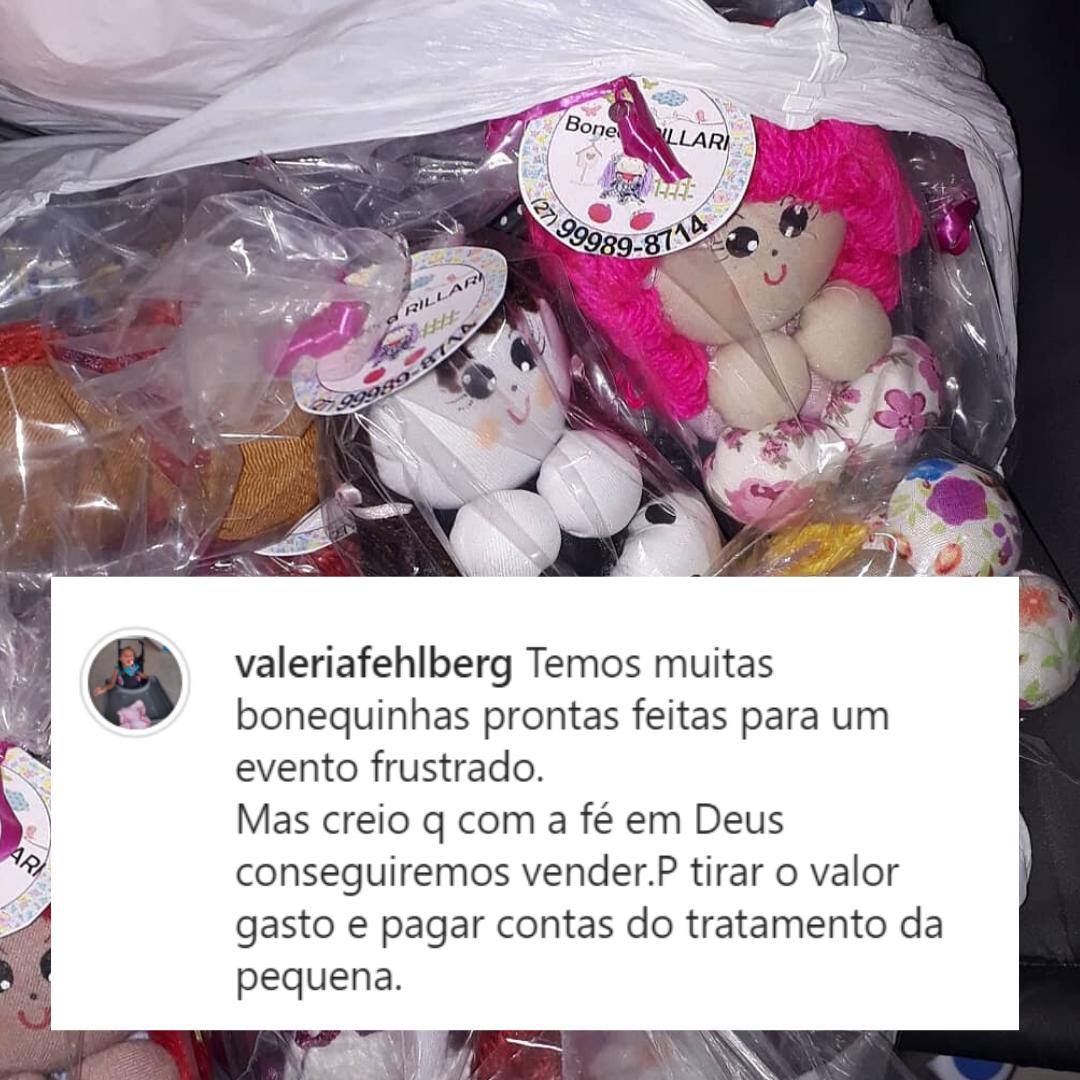 bonecas de pano feitas por mãe com filha de síndrome rara