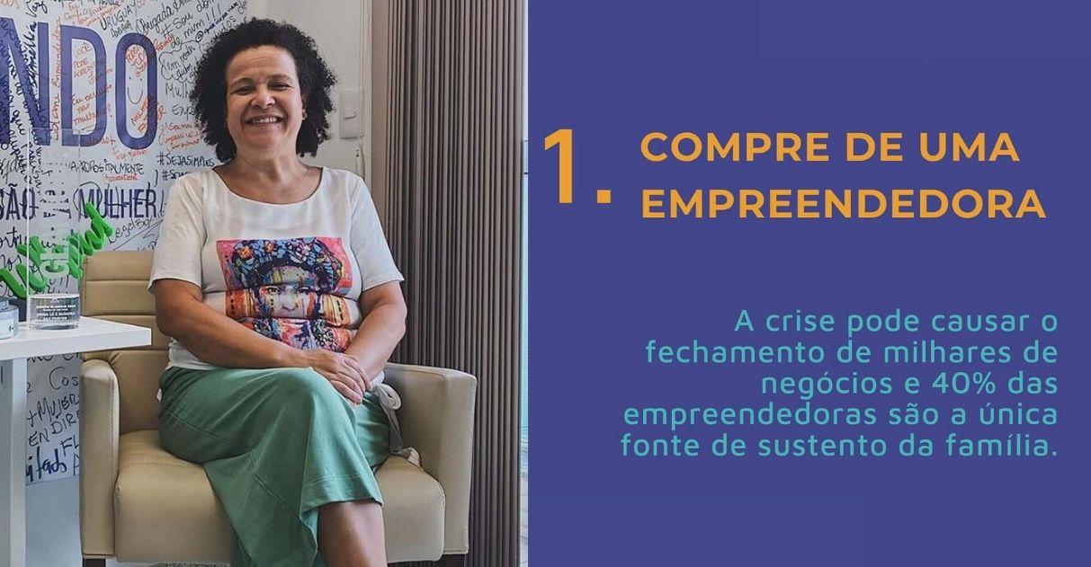 Coronavírus: projeto incentiva mulheres a comprar produtos e serviços de outras mulheres