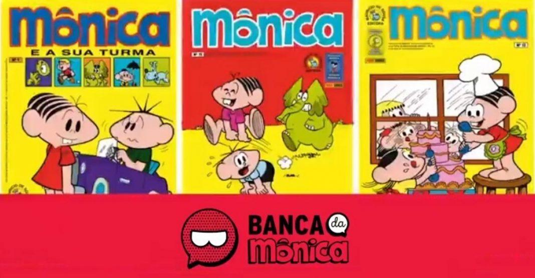 app banca da mônica baixar gibis gratuitamente turma da mônica