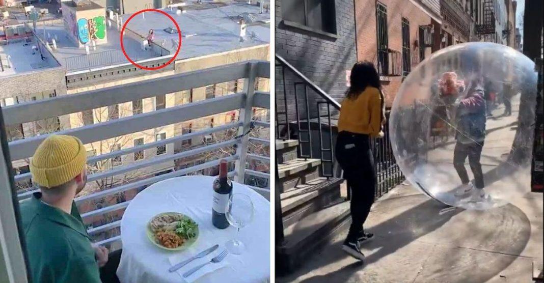 Amor em tempos de coronavírus jovens que almoçaram distância encontro