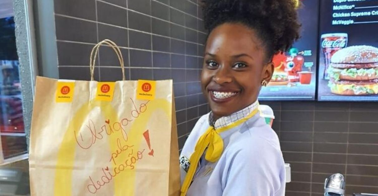 McDonald's envia lanches hospitais agradecimento combate coronavírus
