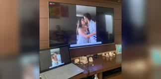 noivos cancelam casamento fazem cerimônia ao vivo redes sociais