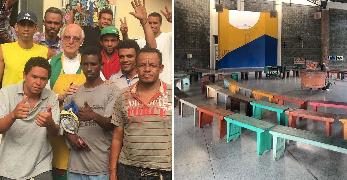 espaço oferecido padre abrigar moradores de rua coronavírus