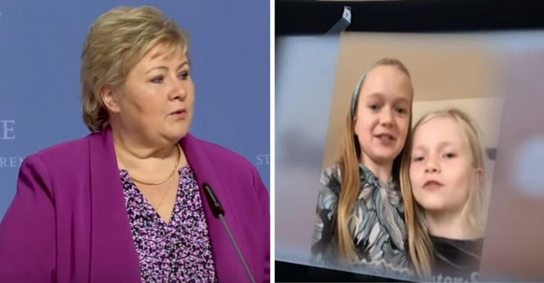 """Primeira-ministra da Noruega faz conferência de imprensa exclusivamente para crianças: """"Está tudo bem sentir medo"""" 4"""