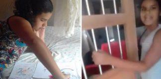 Após vaquinha, menina que vendia livros feitos à mão reforma sua antiga casa de taipa