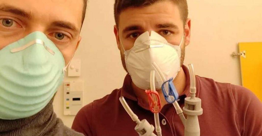 Voluntários criam válvula impressa em 3D para salvar pacientes com Covid-19 na Itália 2