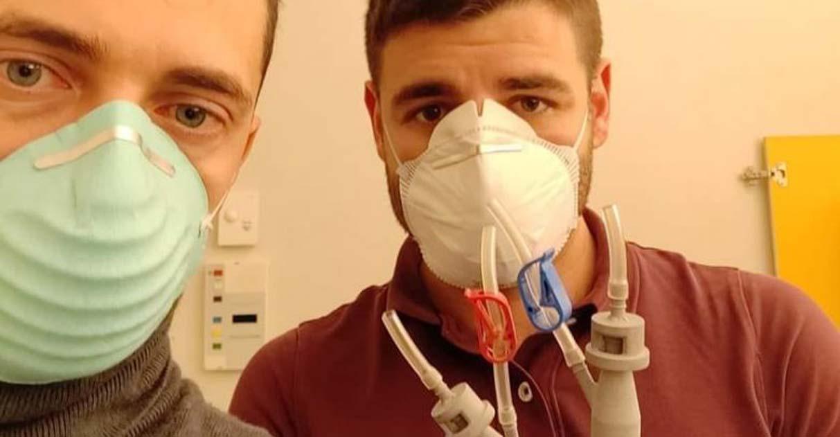 Voluntários criam válvula impressa em 3D para salvar pacientes com Covid-19 na Itália 1