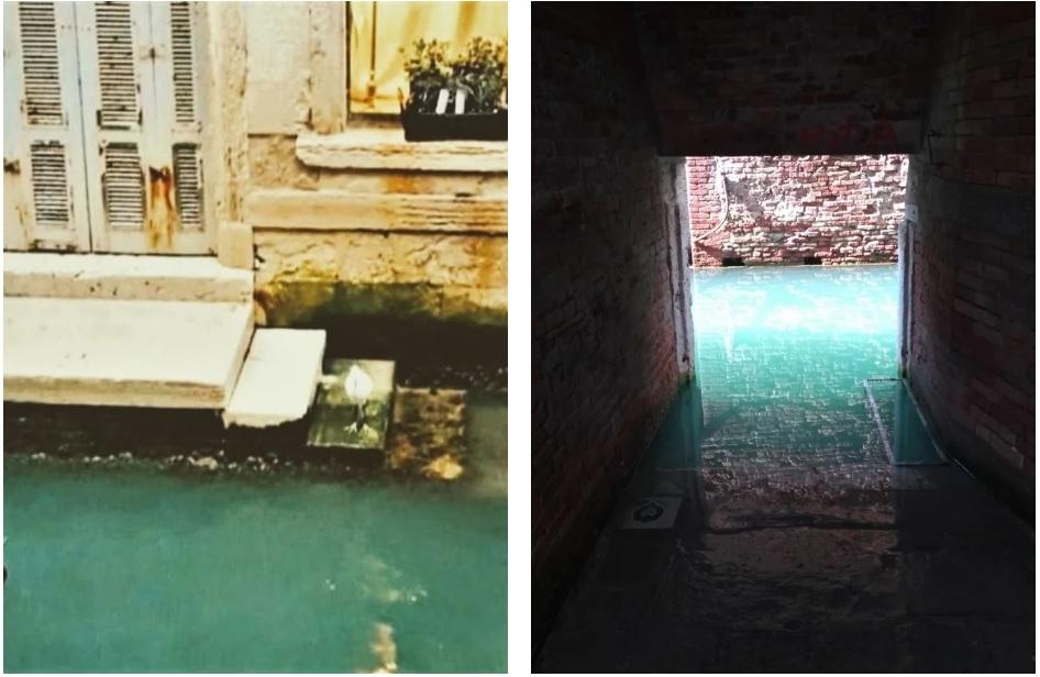 canais de veneza limpos água cristalina sem turistas