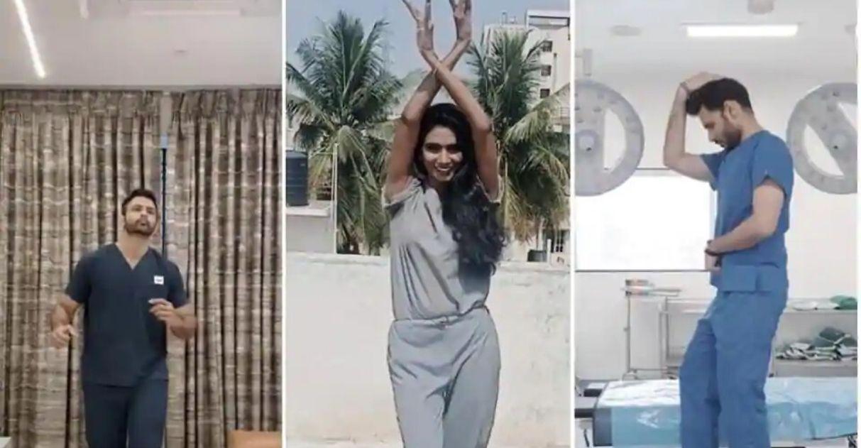 Médicos indianos dançam música para levar alegria pacientes