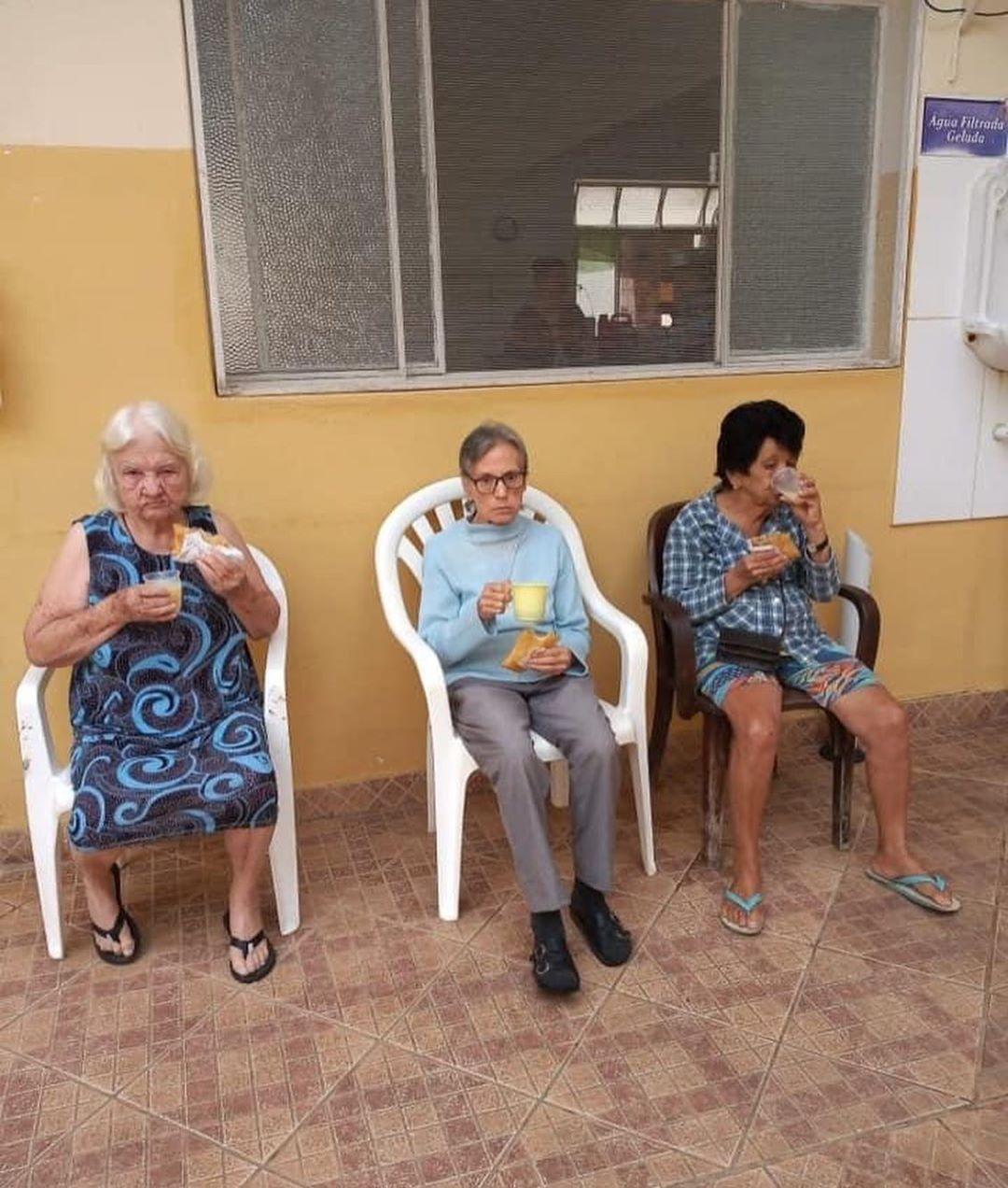 asilo recuperado após ação dos moradores em MG