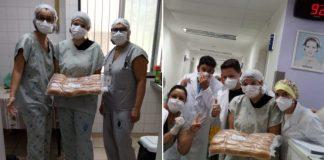 Padeiros diariamente abastecem hospitais de SP doando mais de 4 mil pães