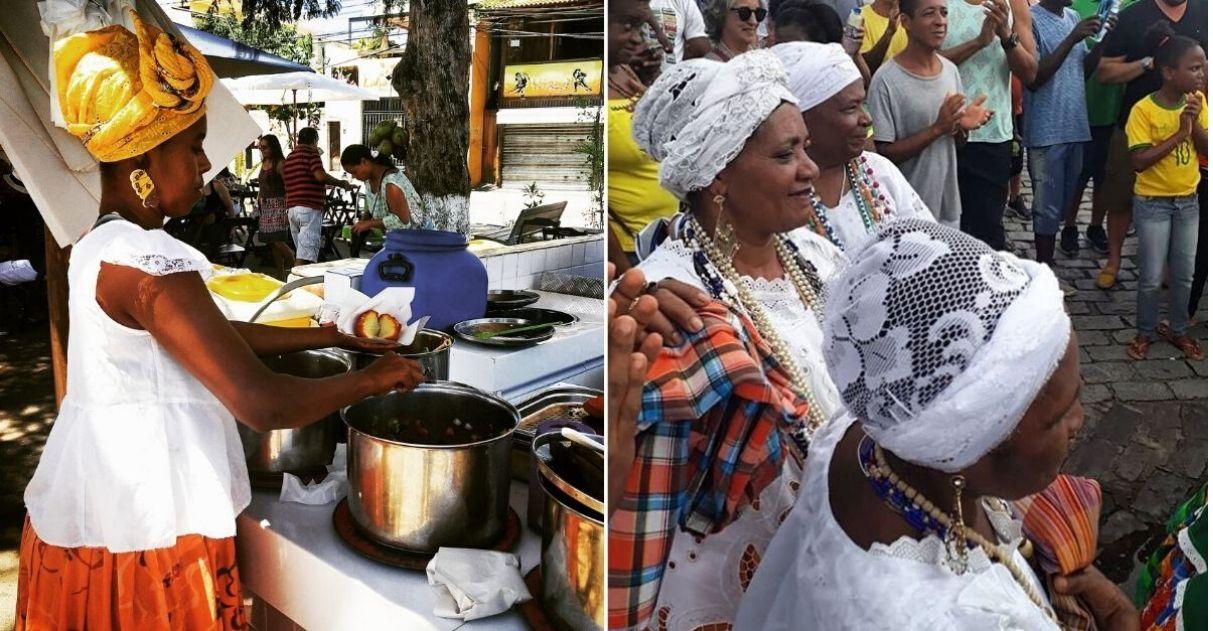 Baianas de acarajé estão sem renda por conta da crise e internautas criam vaquinha 1