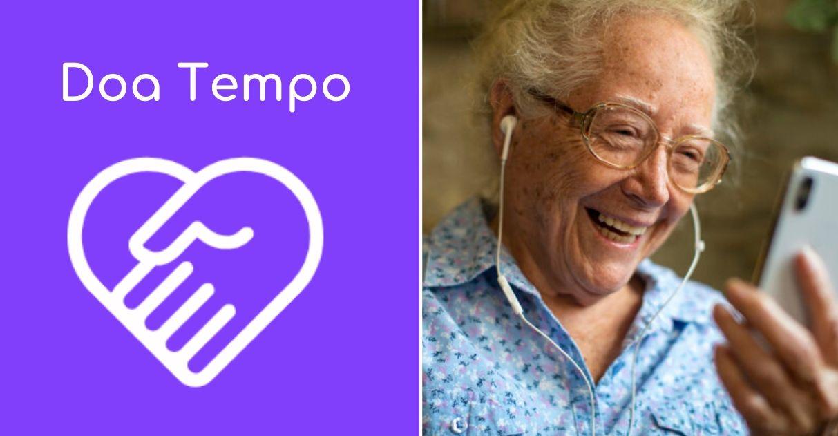 Plataforma possibilita jovens fazerem companhia a idosos solitários nessa quarentena 2