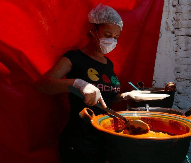comunidade mulheres trans criam cantina comunitária alimentar pessoas necessitadas