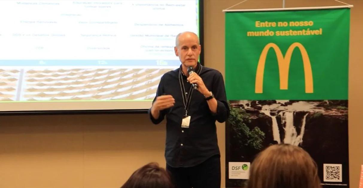 Executivo do McDonald's promove cursos gratuitos sobre desenvolvimento sustentável 2