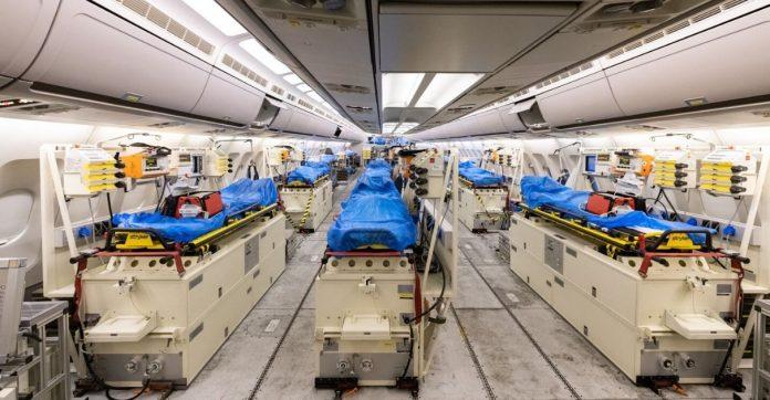alemanha adapta airbus para buscar doentes coronavírus itália