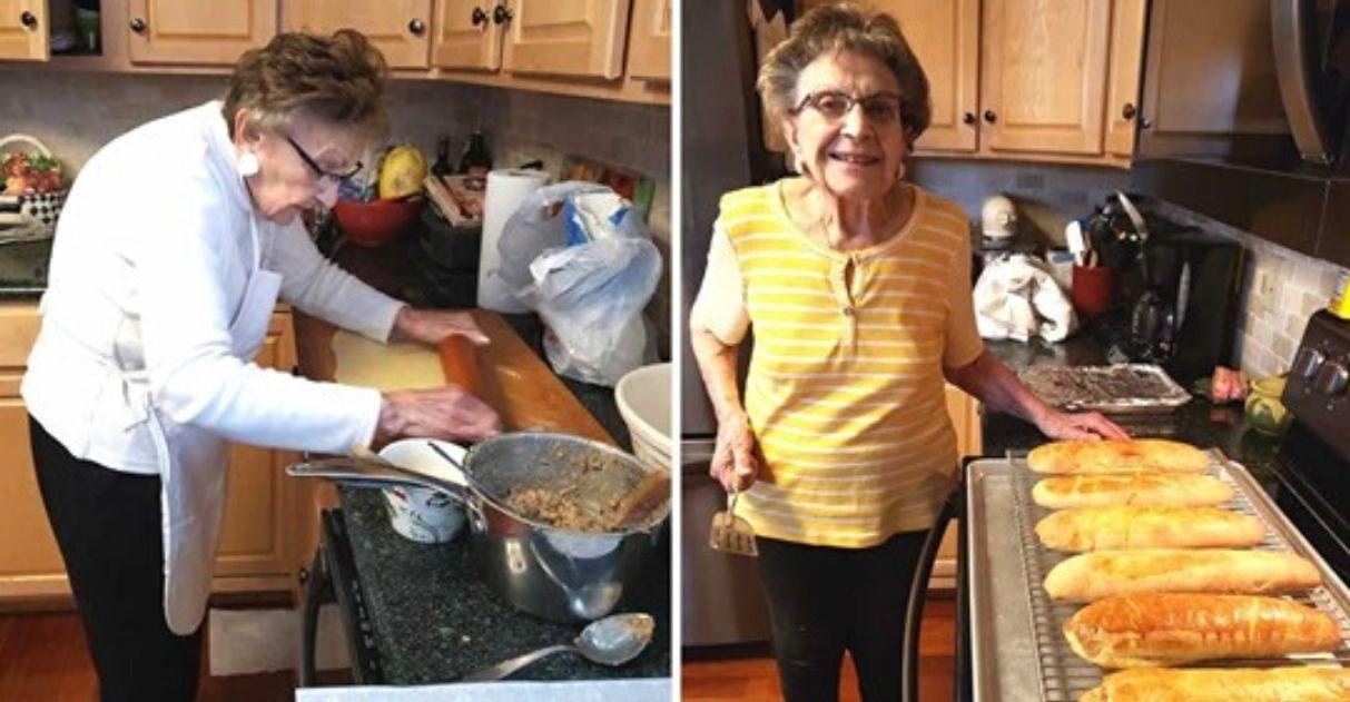 Vovó de 97 anos cria canal de culinária para se entreter 1
