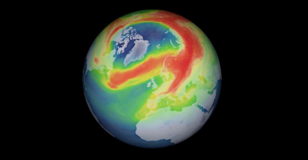 Buraco de 1 milhão de km² na camada de ozônio do Ártico finalmente se fecha 2