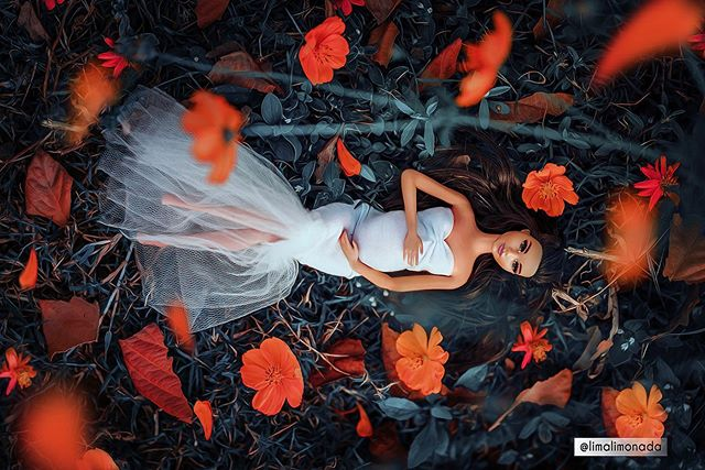 fotógrafo ensaio grávida bonecas driblar depressão
