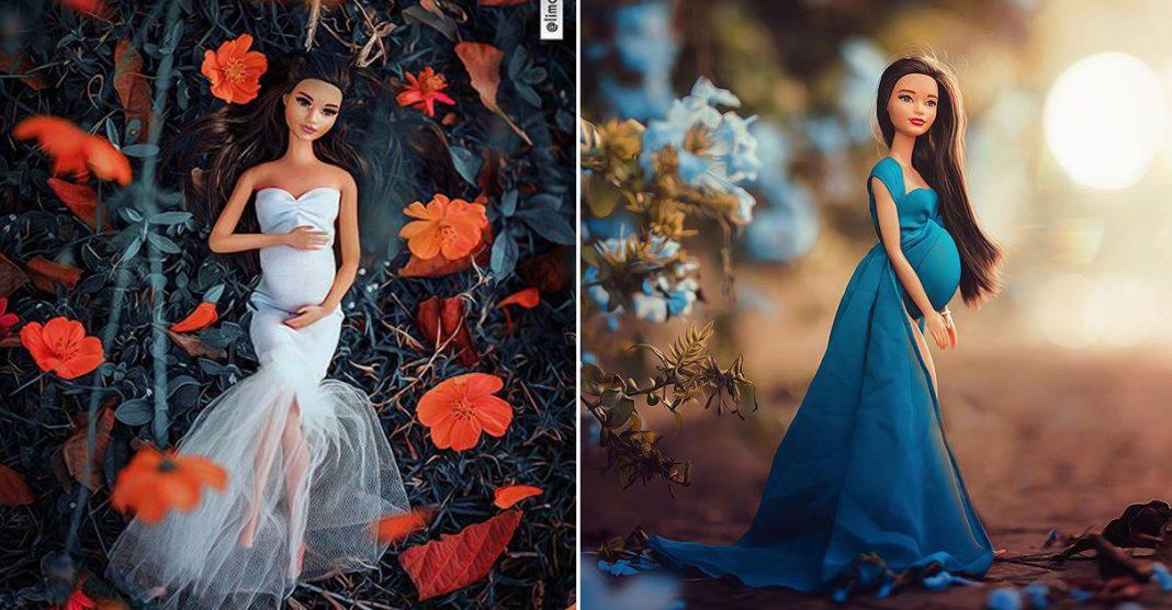 Fotógrafo que tem depressão faz ensaio de grávida com boneca para vencer recaída 1