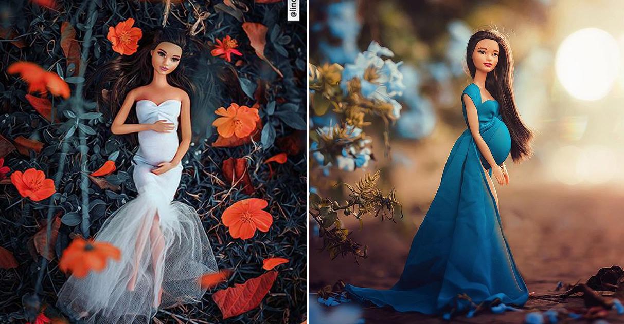 Fotógrafo que tem depressão faz ensaio de grávida com boneca para vencer recaída 4