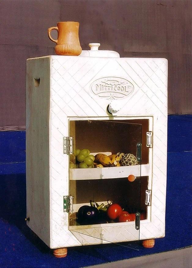 refrigerador argila baixo custo conserva sem eletricidade