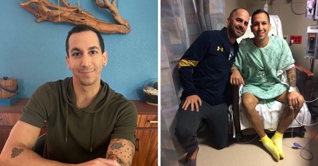 homem doa rim para desconhecida em troca de órgão para amigo doente