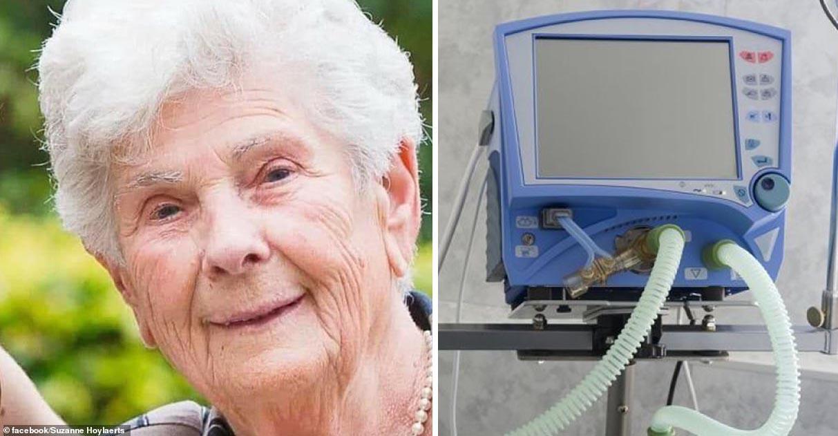 """Idosa morre após recusar ventilador e dizer aos médicos: """"guarde para os mais jovens"""" 1"""