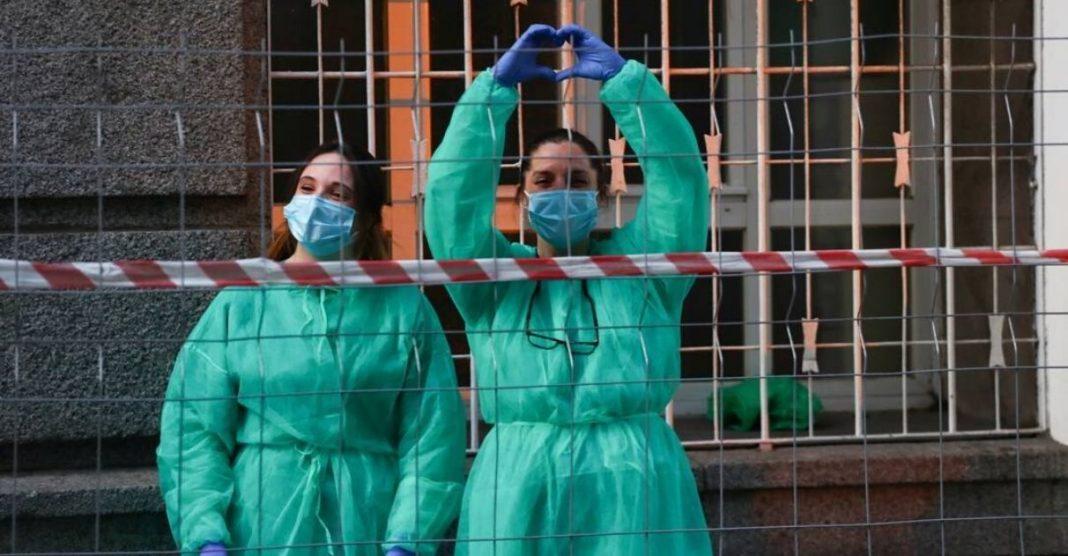 redução número infectados e vítimas coronavírus itália espanha