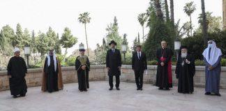 judeus cristãos muçulmanos fazem oração conjunta jerusalém