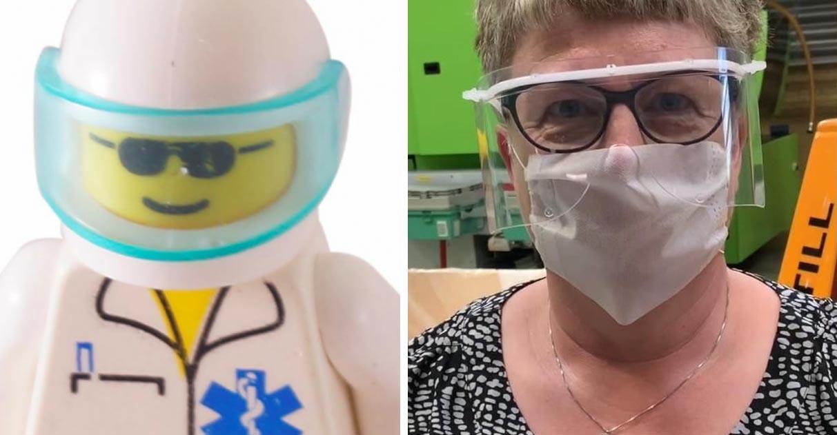 Lego vai produzir 13 mil viseiras de proteção por dia para profissionais de saúde 1