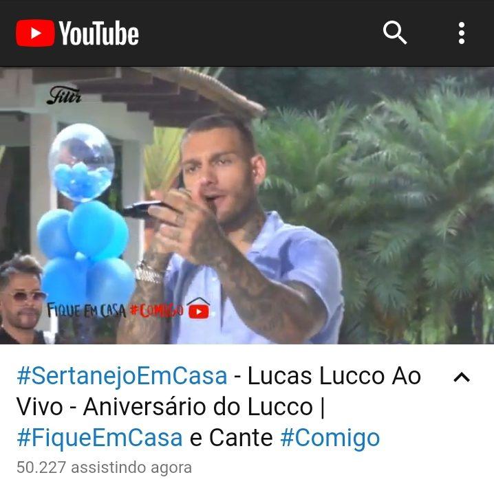 live do cantor Lucas Lucco