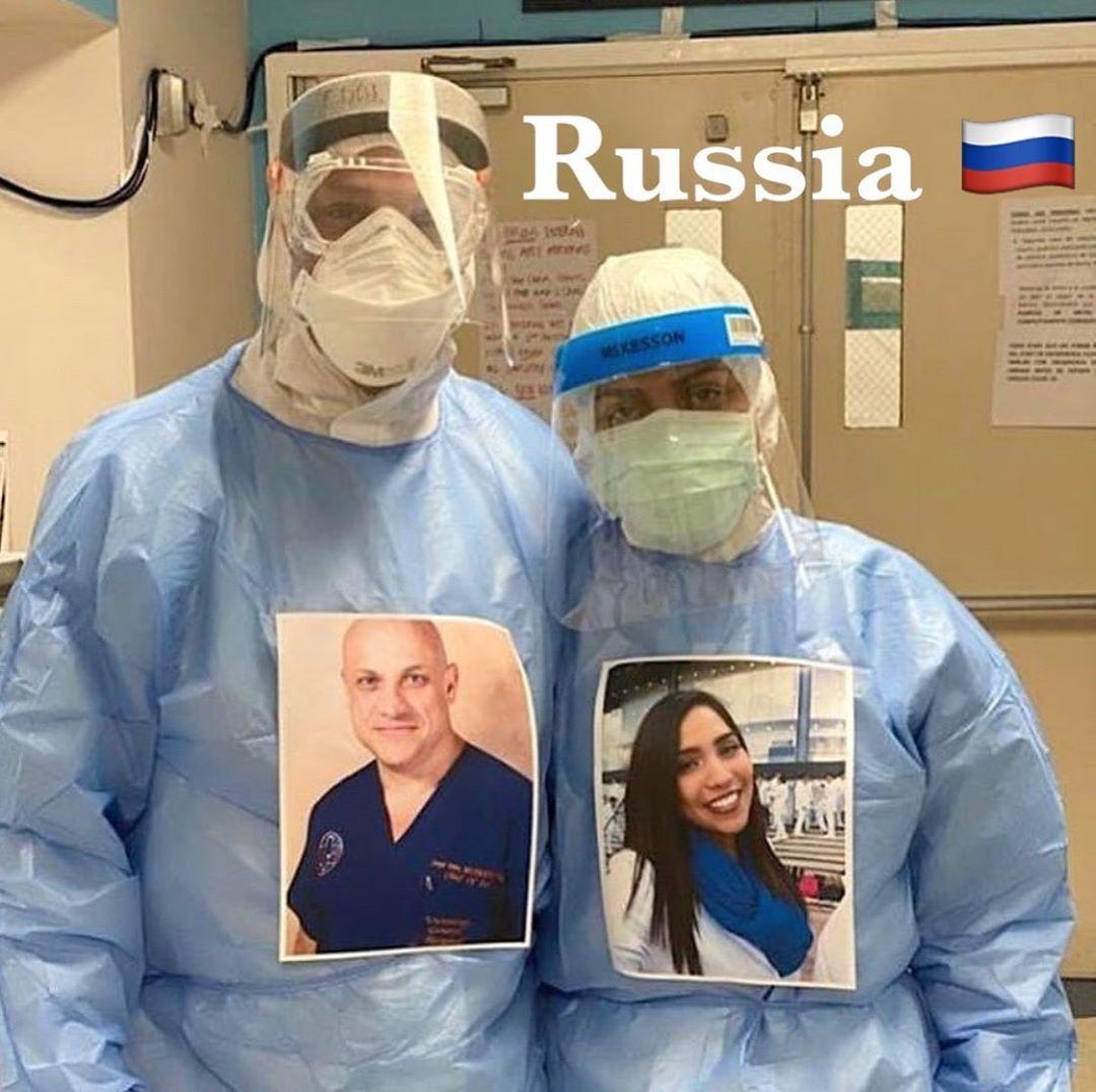 médicos fotos sorrindo pacientes covid19