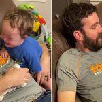 Menino com síndrome de Down chora quando a irmã é tirada de perto dele