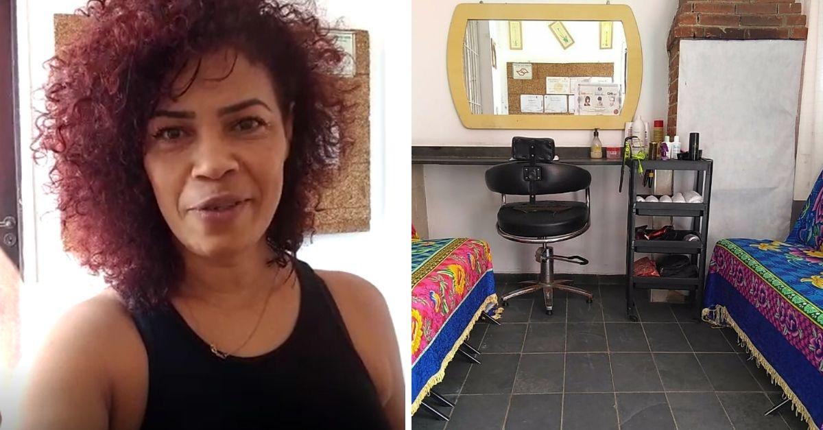 cabeleireira autônoma Edileuza