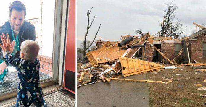 vaquinha ajuda médico quarentena que teve casa destruída tornado