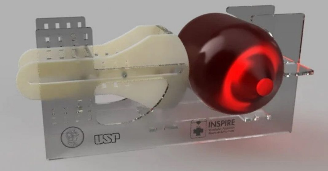 USP cria ventilador pulmonar de baixo custo